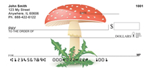Mushrooms Checks - Mushroom Style Personal Checks