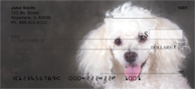 Poodle Checks - Poodles Personal Checks