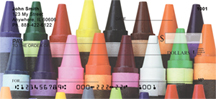Crayon Checks - Crayons and Colors Personal Checks