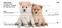Pomeranians Personal Checks