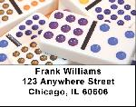 Domino Labels - Dominoes Address Labels