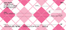 Argyle Checks - More Argyle Personal Checks