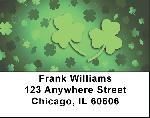 Shamrock Labels - Shamrocks Address Labels