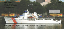 Coast Guard Checks - Coast Guard Craft Personal Bank Checks