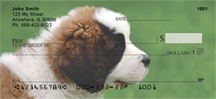 St. Bernards Personal Checks - Saint Bernard Checks