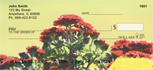 Chrysanthemum Checks - Mums the Word Personal Checks