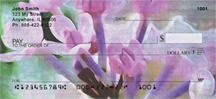 Lilacs in Oil Personal Checks