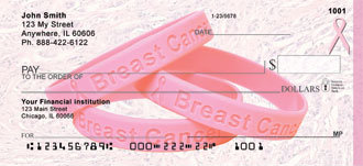 Breast Cancer Awareness Bracelet Personal Checks