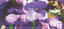 Lilac Flower City in Oil Personal Checks - Flower City Lilacs Checks