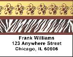 African American Labels - African American Art Address Labels