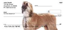 Afghan Checks - Afghan Hound Personal Checks