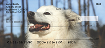 American Eskimo Dog Personal Checks - Eskimo Dog Checks