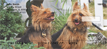 Australian Terrier Checks - Australian Terrier Personal Check