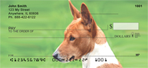 Basenji Checks - Basenji Personal Bank Checks