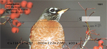 Robins Checks - Robin Red Breast Personal Checks