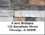 Stone Wall Labels - Stone Wall Address Labels