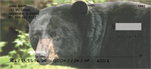 Black Bear Checks - Black Bears Personal Checks