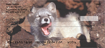 Fox Checks - Arctic Fox Personal Checks