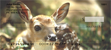 Deer Checks - Deer Fawn Personal Checks