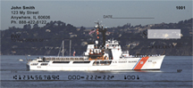 Coast Guard Checks - Coast Guard Cutters Personal Checks