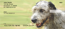 Irish Wolfhound Personal Checks - Wolfhound Checks