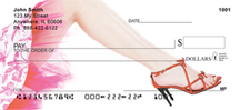 Red Stiletto Checks - Red Stilettos Personal Checks