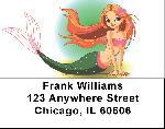 Mermaids Labels - Mermaid Address Labels