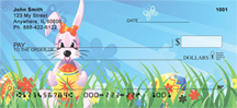 Easter Background Personal Checks