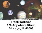 Planets Address Labels - Space Labels