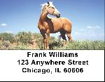 Mustang Labels - Mustang Horse Address Labels