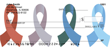 Awareness Ribbons Personal Checks - Awareness Checks