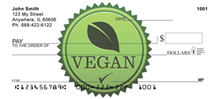 Vegan Checks - Vegan and Vegetarian Personal Checks