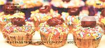 Cupcake Checks - Cupcakes Personal Checks