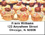 Cupcake Labels - Cupcakes Address Labels