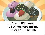 Cupcakes Labels - Cupcake Assortment Address Labels