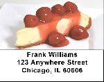 Cheesecake Labels - Cheesecake Address Labels