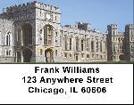 Castle Labels - Windsor Castle Address Labels