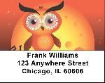 Owl Cartoon Address Labels - Owls Labels