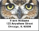 Owls Labels - Owl Address Labels